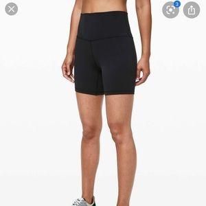 "Lululemon black shorts align 6"""